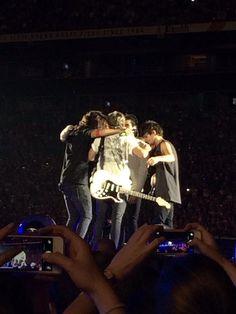 Last group hug. The tears are real!!