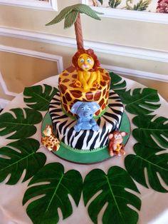jungle theme baby shower centerpieces safari balloon decorations
