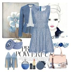 """""""Untitled #978"""" by misaflowers ❤ liked on Polyvore featuring Chanel, Capri Blue, Catherine Malandrino, Fiorelli, Oribe, Anastasia Beverly Hills, 10 Crosby Derek Lam, LUISA BECCARIA and Alexander McQueen"""