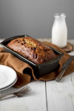 Rikki Snyder Photography | Blog | Banana Bread With Chocolate And Crystallized Ginger