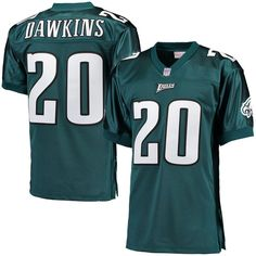 7edb60a1b78 Brian Dawkins Philadelphia Eagles Mitchell & Ness 1996 Throwback Authentic  Jersey - Midnight Green