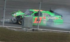Danica Patrick crashes as teammate Tony Stewart wins first Duel at Daytona