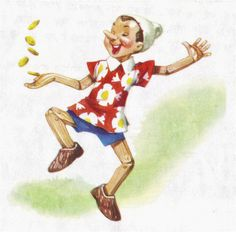 Pinnochio - illustrated by Libico Maraja (22) | Flickr - Photo Sharing!