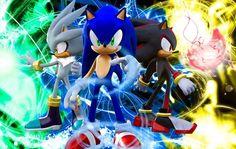 Wallpaper d SEGA: Sonic. Shadow & Silver   Super's