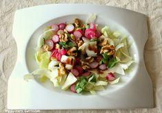 My Culinary Curriculum: Salade de radis tièdes, endives et noix (Radish sa...
