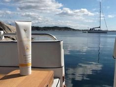 Forever Living's SPF 30 Sunscreen.  Goes on silky smooth and made with Aloe Vera.  Blocks both UVA & UVB rays