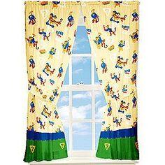 Winnie the Pooh Window Drapes - Sleuths  Order at http://amzn.com/dp/B0025VKMGO/?tag=trendjogja-20