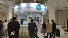 Stand da HP no IoT 2016 (IoT - Internet of Things)