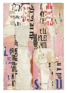 "Parts of speech 8 • by Lisa Hochstein –  7"" x 10"" salvaged paper. inspiration for shotgun..."