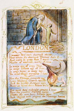 william blake industrial revolution
