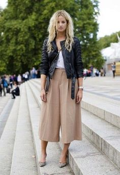 MONTREAL IN STYLE: TRENDING NOW: CULOTTES