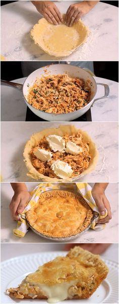 Empadão de Frango MAIS FÁCIL DO MUNDO! #empada #frango #fácil #receita #gastronomia #culinaria #comida #delicia #receitafacil