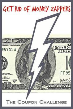 A clear way to get rid of debt is to simply get rid of money zappers. What is a money zapper? Those are the little things that we spend money on that aren't necessary.