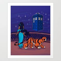 I can show you the Universe Art Print by Karen Hallion Illustrations - $16.99