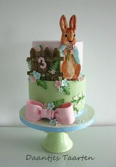 Peter Rabbit - Cake by Daantje