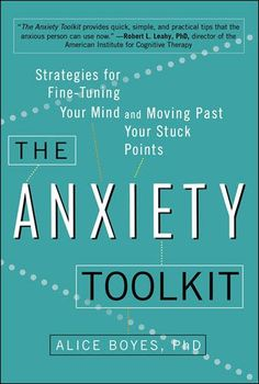 Anxiety Toolkit--how anxiety affects the lives of its sufferers. It gives the causes of anxiety as well as clear steps to decrease anxiety. Very interactive book that teaches the lessons of anxiety quite well. http://www.developgoodha...
