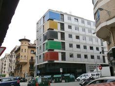 Adoquines y Losetas.: Edificio Federaciones