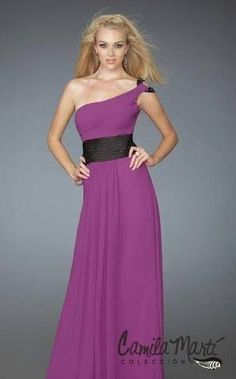 Purple#dress#with#black#line#lovely#