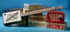 Cigar box Guitar History - Homemade 3 string guitars