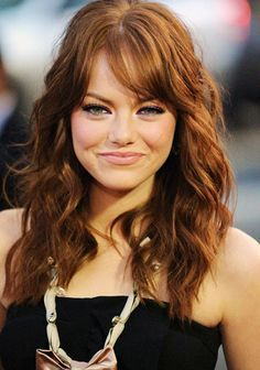 emma stone brown hair color - Google Search