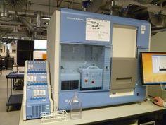 Illumina GA2 sequencing machine at Wellcome Trust Sanger Institute