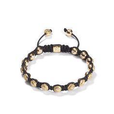 Shamballa Jewels 8mm braided bracelet in 750/- rose gold set with white brilliant cut diamonds. visit: www.langaard.no