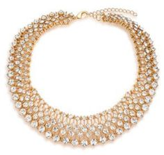 ABS by Allen Schwartz Jewelry Royal Flush Faceted Collar Necklace