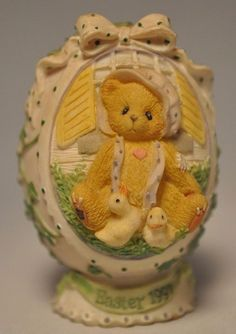 Cherished Teddies - Girl With Chicks - 203017 Egg