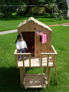 American girl camp and summer ideas on pinterest for Treehouse kits do it yourself