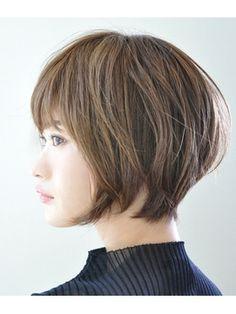 頭の形がキレイ★大人のショートボブ★ - 24時間いつでもWEB予約OK!ヘアスタイル10万点以上掲載!お気に入りの髪型、人気のヘアスタイルを探すならKirei Style[キレイスタイル]で。