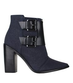 2a9823ea80325 Navy Essentials  Tibi Piper Ankle Book Cool Boots, Sexy Boots, Black Boots,