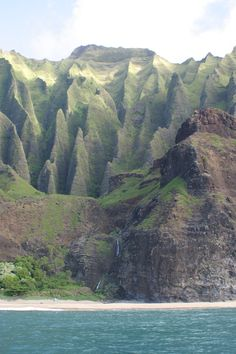 Kalalau Valley and Kalalau Beach in Kaui, Hawaii when we were there in 2004.  One of my favorite places on Earth!