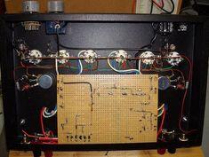 Poddwatt: Class-A Stereo Push-Pull Vacuum Tube Amplifier Valve Amplifier, Speaker Plans, Vacuum Tube, Diy Electronics, Vacuums, Radios, Technology, Diy Speakers, Circuits