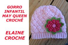 GORRO INFANTIL MAY QUEEN CROCHÊ
