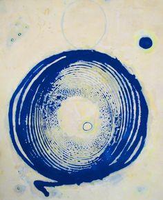 """Saatchi Art Artist: Helen dooley; Wax 2013 Painting """"Circadian 1"""""""