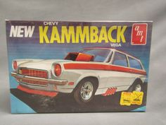 AMT 1971-73 Vega KAMMBACK wagon Funny Car 1976? issue factory sealed FOR SALE • CAD $94.04 • See Photos! Money Back Guarantee. AMT 1971-73 Chevy Vega wagon Funny car factory sealed 1976 issue. I recently acquired a small collection of unbuilt kits that were brought home from a store in the 1970`s, 222667413893