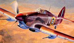 Hawker Hurricane Mk IId Trop by Shigeo Koike
