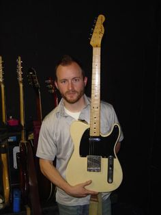 with a Fender Telecaster