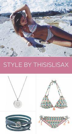 Bloggerin @ThisIslLisaX zeigt dir, wie man einen wunderschönen Bikini mit wunderschönen Accessoires noch wunderschöner machen kann. Alles für Deinen wunderschönen Strandurlaub!