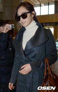 Yuri casual airport fashion  - Girls Generation