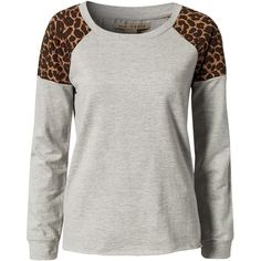 #Sweater #Grey #Leopard Own this? Save the image to your desktop and upload it to your WiShi closet