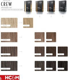 american crew precision blend reinventing hair color 3x40ml color chart - Keune Color Swatch Book