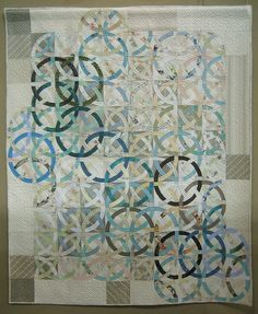 Love the way the rings interlock.  2010 Tokyo International Quilt Festival.  Photo by Be*mused [Jan B.], via Flickr.