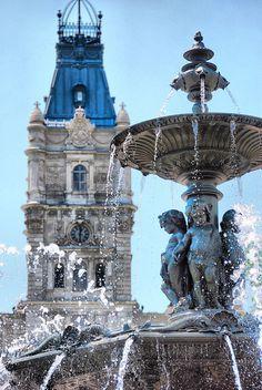 Fontaine de Tourny - Hôtel du Parlement - Quebec City - Québec - Canada