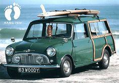 1963 Mini wagon woody - Cowabunga!!!