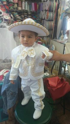 Charro baptism outfit  sc 1 st  Pinterest & who doesnu0027t just love this lil mariachi baby? | bautizo | Pinterest ...