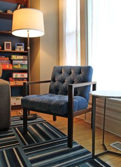 Cool chair! http://www.apartmenttherapy.com/bert-davids-lego-infused-mid-century-apartment-house-tour-174456
