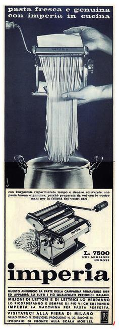 Imperia in Cucina - anni 60