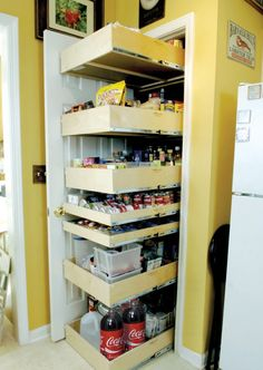 Portrait of Decorate IKEA Pull Out Pantry in Your Kitchen and Say Goodbye to Your Stuffy Kitchen!