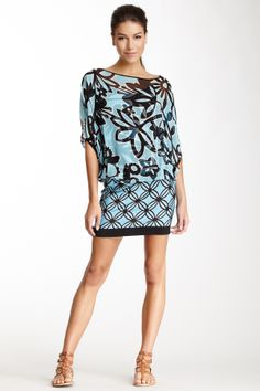 Analili Off Shoulder Silk Blouson Dress on HauteLook